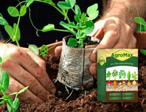 AgroMax nawóz organiczny, składniki, jak używać, jak to działa